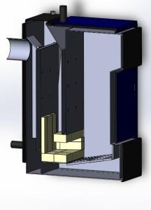 твердотопливный котел для отопления дома 7 квт разрез 1 фото