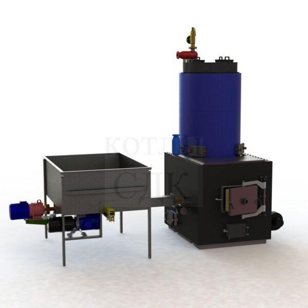 термомасляный котел 1000 кВт с автоподачей