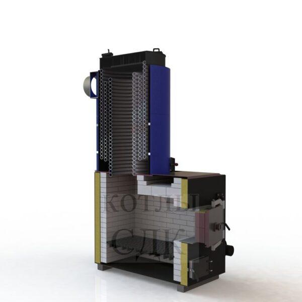 термомасляный котел 200 кВт разрез