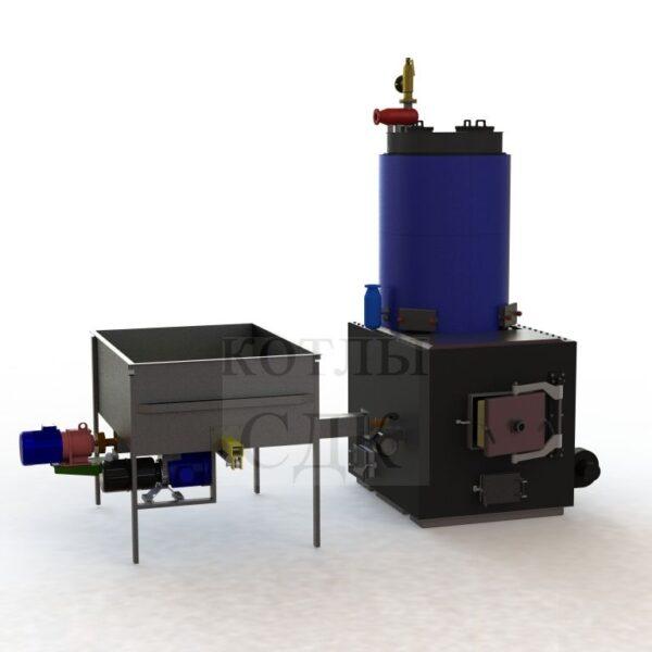 термомасляный котел 2000 кВт с автоподачей