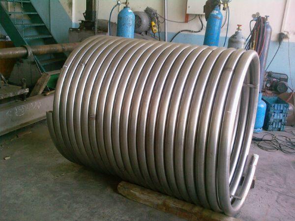 спиральный теплообменник 1 фото