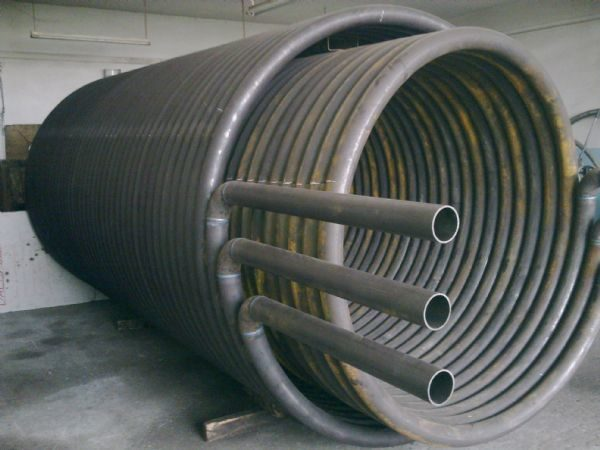 спиральный теплообменник 2 фото