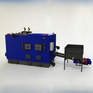 Промышленные котлы с автоматической подачей топлива