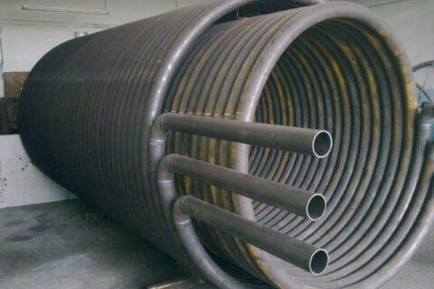 спиральный теплообменник изготовление